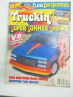 TRUCKIN MAGAZINE OCTOBER 1994 FORD RANGER V8 INSTALL FUEL INJECTION MADE SIMPLE