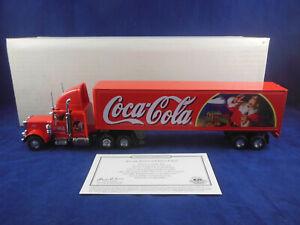 """Matchbox Collectibles KS199A Peterbilt 18 Wheeler """"Tis The Season for Coca Cola"""""""