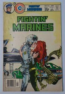 FIGHTIN' MARINES No. 136 1978 Charlton Group Comic Book 7285