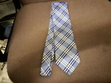 Marks & Spencer Polyester Blue & White Tie