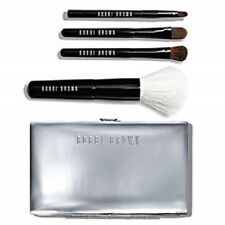 Bobbi Brown Mini Brush Set SEALED in Box 4 Seperate Professional Brushes & Pouch