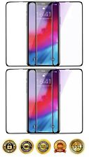 4 Pack Full Cover Tempered Glass Screen Protector For iPhone 11 Pro Max 11 XS XR