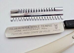 Filarmonica Doble Temple Especial Para Corte De Pelo