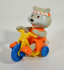 "Vintage 1984 Zipper the Cat 3"" Figure Toy Windup Wheelies Get Along Gang Tomy"