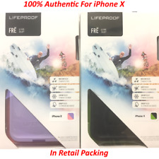 100% Authentic Lifeproof WaterProof Fre Series Case Cover For iPhone X / 10
