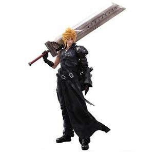 New FINAL FANTASY 7 ADVENT CHILDREN PLAY ARTS KAI Cloud Strife Figure from Japan