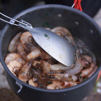 ALOCS Spatula Camping Shovel Kitchen Spoon Ultralight Utensils Cooking Tool