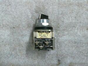 Allen Bradley 800T-J2KC1B Series N 3 Position Selector Switch
