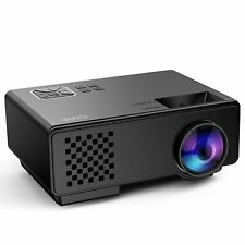 FUNAVO LED Mini Portable Projector With Brighter Luminosity, Movie Projector