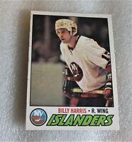 1977-78 O-Pee-Chee #126 Billy Harris Hockey Card! New York Islanders VG OPC