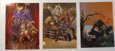 FRAZETTA II, LOT OF CARDS  C1-C2-C3, COMIC IMAGES, 1993, BEYOND THE GRAVE!!!