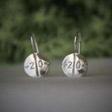 Adderall Earrings - Sterling Silver - Handmade - Authentic PillBling