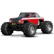 NEW HPI T-Maxx/E-Maxx/ Savage Flux / Savage X 4.6 1973 Ford Bronco Clear Body...