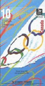 BOOKLET BK146a, SUMMER OLYMPICS, 1414-1418, CLOSED TYPE, WHITE ON RIGHT