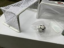 More details for astrobase subbuteo metal goal nets (like usa 1994 style) plus footballs