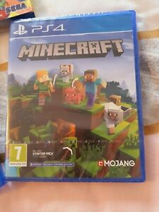 Minecraft PS4 PLAYSTATION Special Bedrock Edition 🌟 NEW AND SEALED 🌟