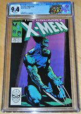 Uncanny X-Men #234 CGC 9.4 (WHITE PAGES) CLASSIC WOLVERINE COVER (X-MEN LABEL)!!