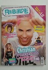 REVISTA REBELDE #32 christian rbd en chile 18  magazine