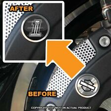 Brembo Front Brake Caliper Insert Set For Harley - USA NO # 1 SKULL - 074