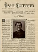 Goupil, France, Camées Artistiques, Lucien Fugère vintage print Photoglyptie