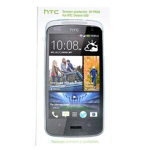 HTC SP P950 Displayschutzfolien 2 Pcs, Folien, Schutzfolien für HTC Desire 500