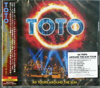 TOTO-DEBUT 40TH ANNIVERSARY LIVE 40 TOURS AROUND THE SUN-JAPAN 2 CD G88