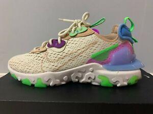 Women's Nike NSW React Vision US8.5 (Fossil/Vachetta Tan) Brand New