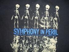 SYMPHONY IN PERIL TSHIRT Concert Tour Columbus Ohio Christian Metalcore Band SM