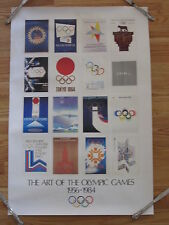 The ART OF THE OLYMPIC GAMES 1956-1984 Poster