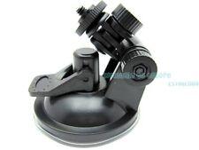 NEW Car Bracket Mount Suction cup for GoPro,SJ4000,DVR207GS action Camera Black