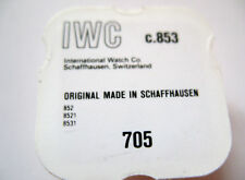 IWC  8531,8521,852,853 ESCAPE WHEEL PART NUMBER 705
