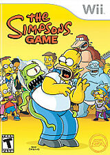 The Simpsons Game (Nintendo Wii, 2007) COMPLETE