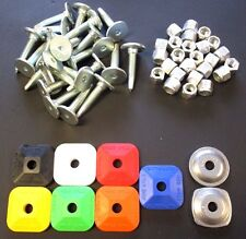 """Stud Boy Power Point Studs w/ Nuts & Backers Of Your Choice! - 1.375"""" - 96 Pack"""