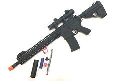 VFC Saber Carbine Avalon Custom AEG Airsoft Rifle Package - Black - New