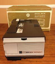 Bolex Multimatic Super 8 Projector w/ Original Box Vintage