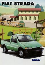 Prospekt Fiat Strada Pick-up 5/99 1999 Autoprospekt Broschüre Auto Pkw brochure