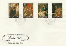 Cook Islands 1979 Easter SG 623 - 626 FDC
