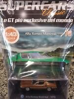 ALFA ROMEO MONTREAL 1970 SUPERCARS GT COLLECTION 1:43 #76 - DIE CAST MIB