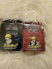 Rare Zatch Bell Card Battle Starter Decks 1 and 2 - Bandai - 2005