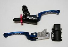 ASV C6 Pro Pack Brake & Clutch Lever Kit BLUE Honda TRX 700XX 2008 - 2009