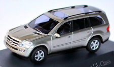 Mercedes Benz GL Class X164 - 2006-09 Cubanite Silver Metallic 1:87 Busch