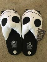 Nightmare Before Christmas Jack Skellington Mens Disney Slippers XL 13/14 NWT