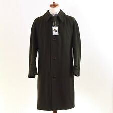 CORNELIANI Mantel Coat Gr 54 Wolle Wool Lodengrün Green Made in Italy CLASSIC