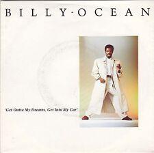 "BILLY OCEAN - Get Outta My Dreams Get Into My Car 7"" 45"
