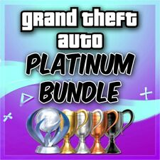🔥Grand Theft Auto's Platinum Trophy Bundle GTA IV V 5 +More  PSN/PS3/PS4/VITA🔥
