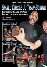 Vol-4-5-6 (3 Volume Set) - Small Circle Ju Trap Boxing by James Hundon