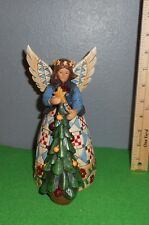 Jim Shore [ Angel / Tree ] Figurine Has Box
