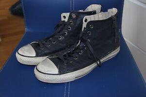 Coverse Sneaker Leder Herren Gr. 44 Leder Blau, John Varvatos