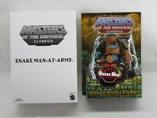 MOTU,MOTUC,SNAKE MAN-AT-ARMS,MASTERS OF UNIVERSE,CLASSICS,Sealed,MOC,He-Man