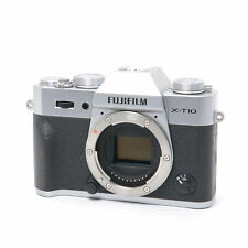 Fujifilm Fuji X-T10 16.3MP Mirrorless Digital Camera (Silver) -Near Mint- #112